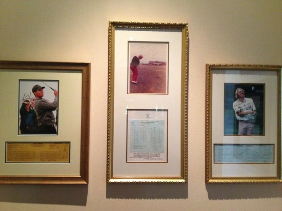 Royal Troon Golf Club: tribute to some of golf's elite