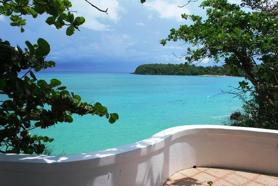 Jamaica Inn: Our cottage # 6 balcony