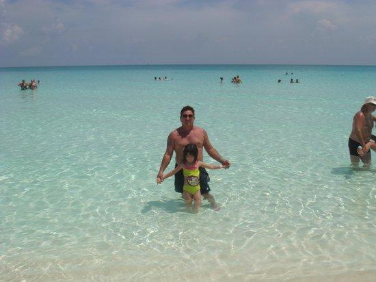 Hotel Playa Coco: Espectacular mar azul