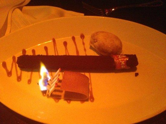 Alma de Cuba : chocolate cigar