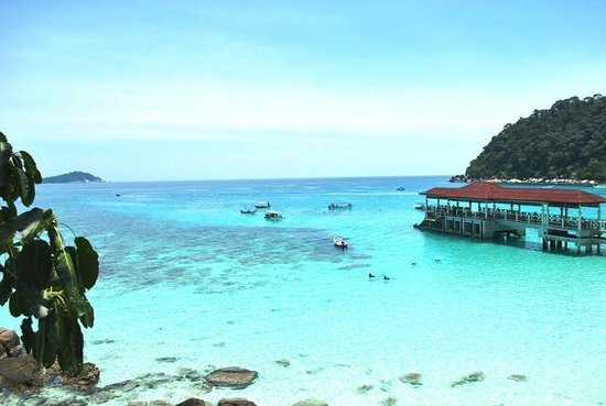 Pulau Perhentian Besar, Malasia: The Snorkeling Point, Exactly in front of the hotel