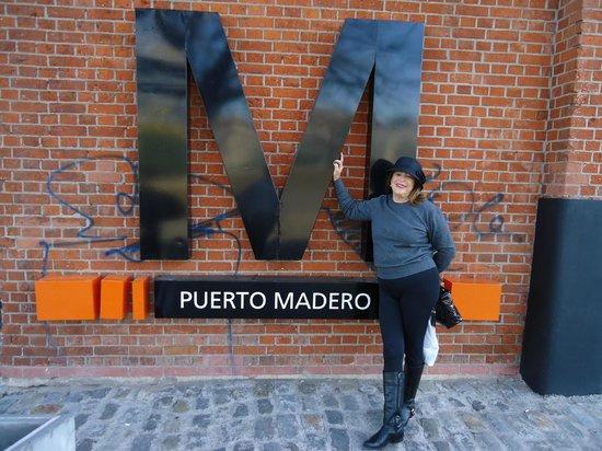 La Vaca Argentina : Pueto Madero onde ´fica LA VACA