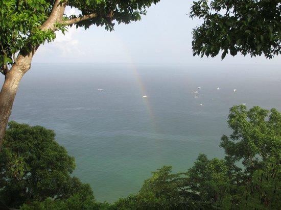 Castara Retreats: The view from Coasthanger