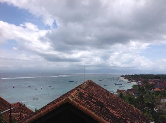 Lembongan Island Beach Villas: View from the balcony