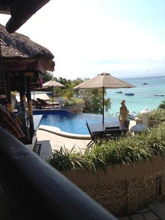 Lembongan Island Beach Villas: Infinity pool