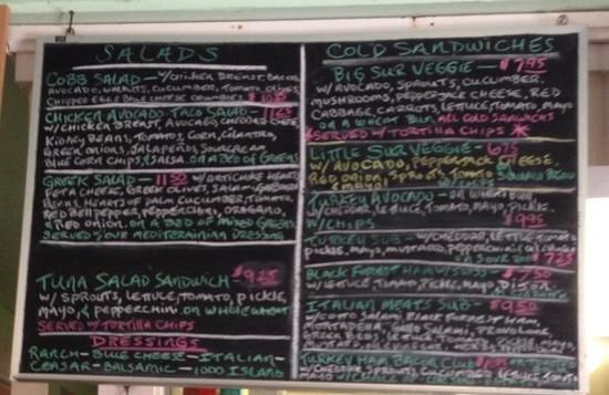 Sebastian's Cafe: Menu - 2