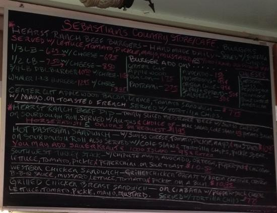Sebastian's Cafe: Menu - 3
