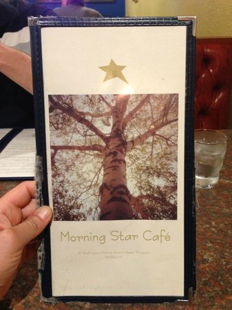 Morning Star Cafe: Menu