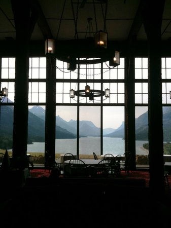 Royal Stewart Dining Room : View from the dining room.