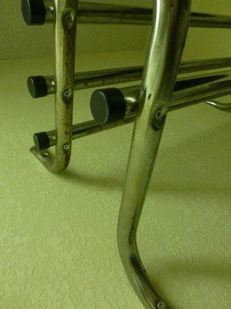 Magnuson Hotel - Baton Rouge : Rusty Towel Rod
