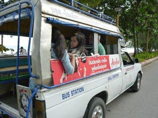 Aonang Villa Resort: Cheap Transport to night Market in Krabi town