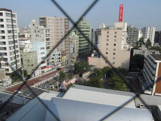 Hotel Mets Komagome : 9Fエレベーターホールからの眺望