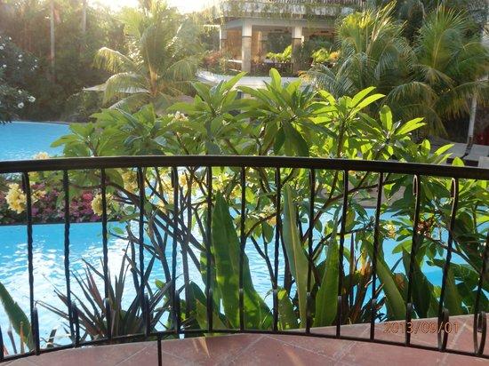 Swiss-Belhotel Segara Resort & Spa : View from our balcony