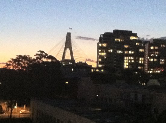 Astral Tower and Residences at The Star : View from 2 bedroom apartment - Pyrmont