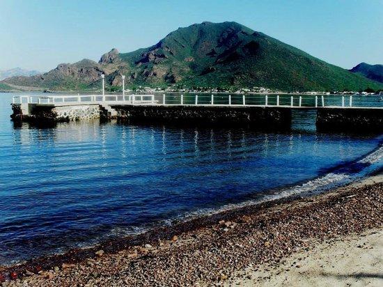 Hotel Playa de Cortes: el muelle del playa