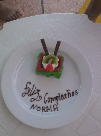 Sunscape Dorado Pacifico Ixtapa: el detalle por mi cumpleaños