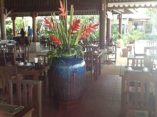 Baan Chaweng Beach Resort & Spa: In the dinningroom