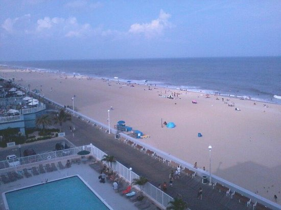 Quality Inn Boardwalk: View from our balcony