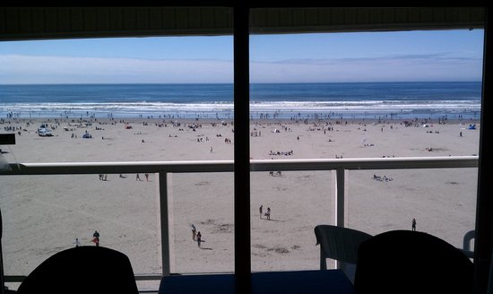 Shilo Inn Suites Hotel - Seaside Oceanfront: View from room