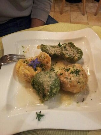 Restaurant Picknick: canederli