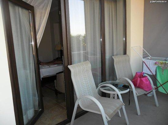 Hotel Del Mar Mamaia: balcony
