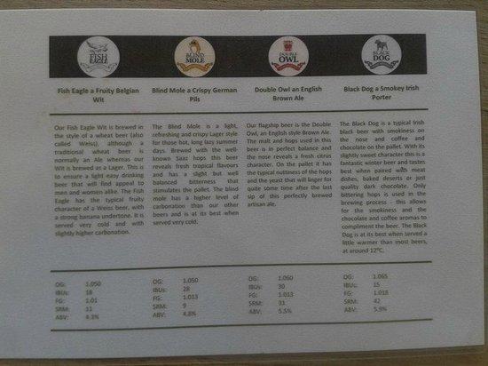 Wild Clover Farm : beer description