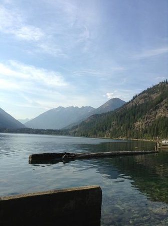 North Cascades Lodge at Stehekin: lake chelan