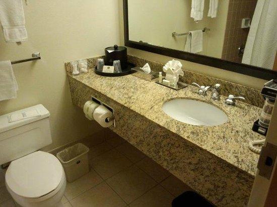 BEST WESTERN PLUS Bayside Inn: Washroom