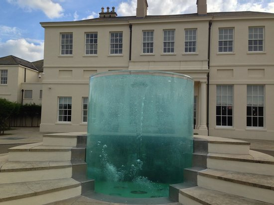 Seaham Hall: The entrance to the hotel