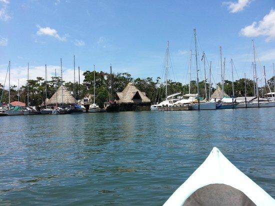 Catamaran Island Hotel: The Rio from the Kayak