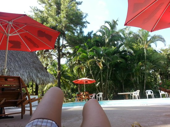 Catamaran Island Hotel: The pool