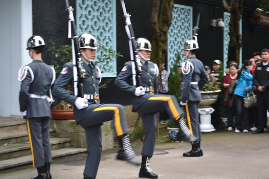 Daxi, Таоюан: 極推薦之禮兵交接儀式