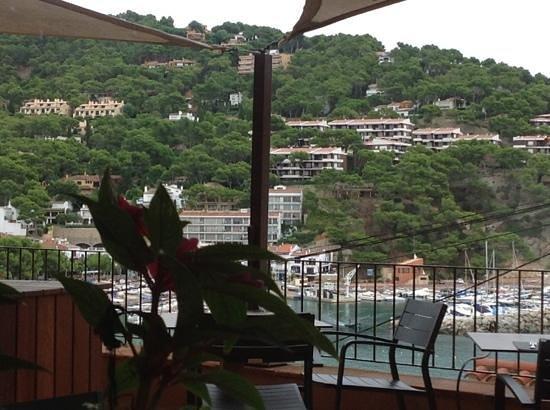 Casamar Hotel: vista desde la terraza