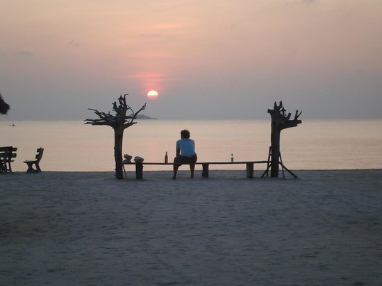 Nice Sea Resort: Unbeatable sunset