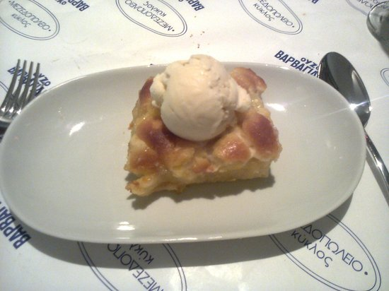 Kyklos Greek Restaurant : apple pie