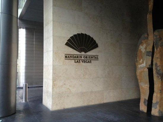 Mandarin Oriental, Las Vegas: eingangsbereich