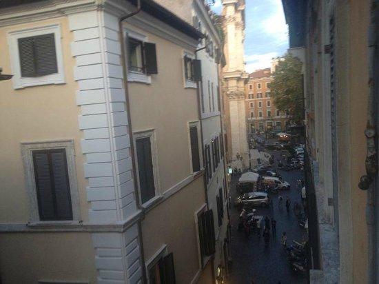 A Via dei Giubbonari 23: View from our window