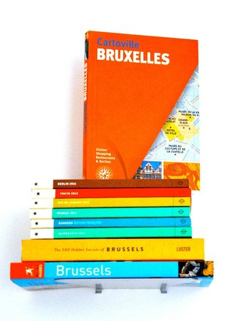 X2Brussels: guide books