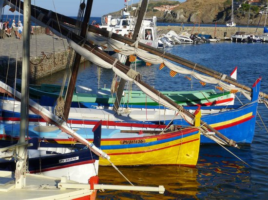 Villa Miranda: Hafen in Collioure