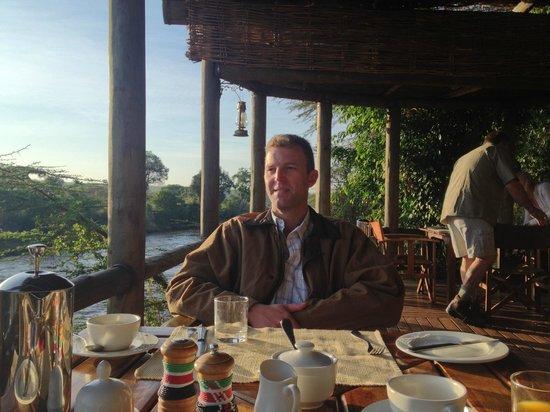 Sanctuary Olonana: Enjoying Lunch