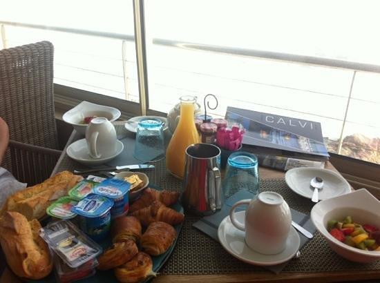 Hotel Serenada : petit déjeuner