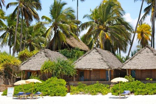Matemwe Bandas Boutique Hotel, Zanzibar: View from the beach