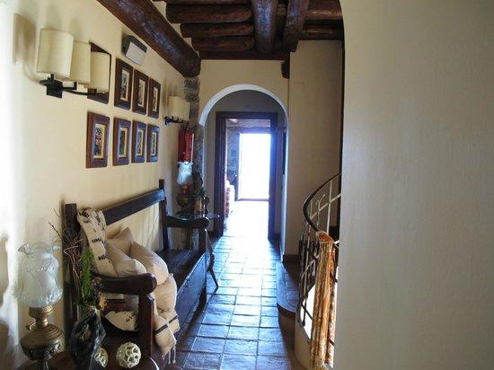 Casa de San Martin: Pasillo de una de las plantas