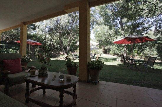 Hotel Rural Xerete : Porche