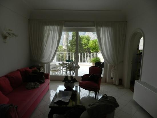 Villa Brunella: the room