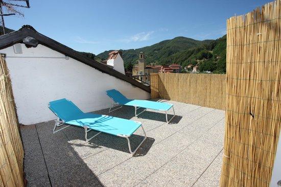 La terrazza sul tetto - Foto di Nonno Toni, Campo Ligure - TripAdvisor