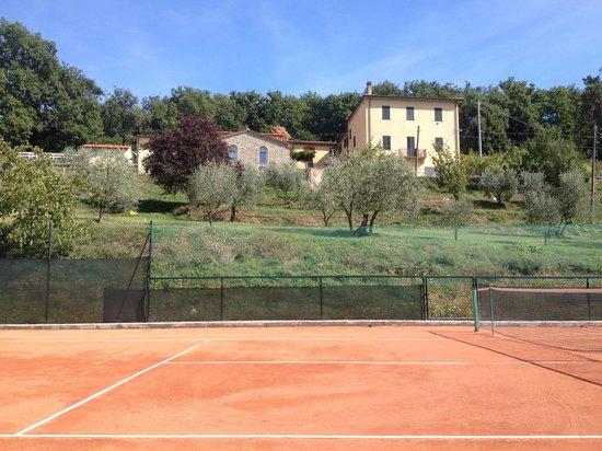 Podere Delle Fanciulle : campo da tennis
