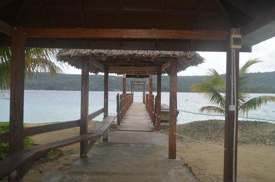 Hideaway Island Resort: Jetty