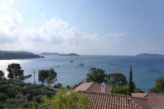 Aegean Suites: View from room