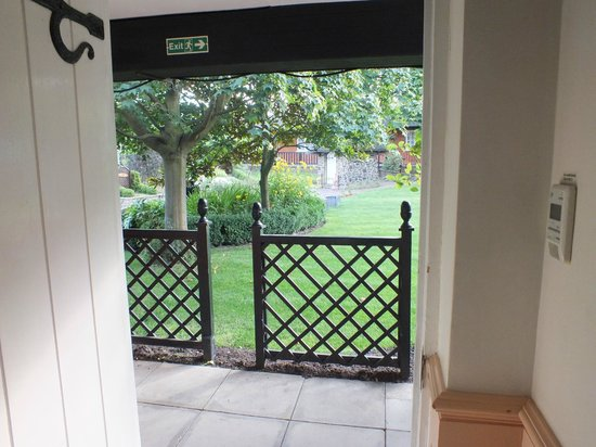 Marygreen Manor Hotel: View from garden room